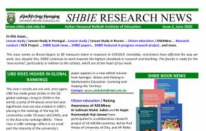 SHBIE Research Newsletter Issue 2